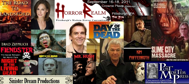 Episode 020A – 2011 Horror Realm Convention (2 Parts)