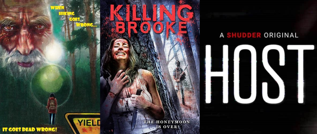Anthony T's Horror Show – Episode 047 – Killing Brooke (2012), Yield (2020), and Host (2020)
