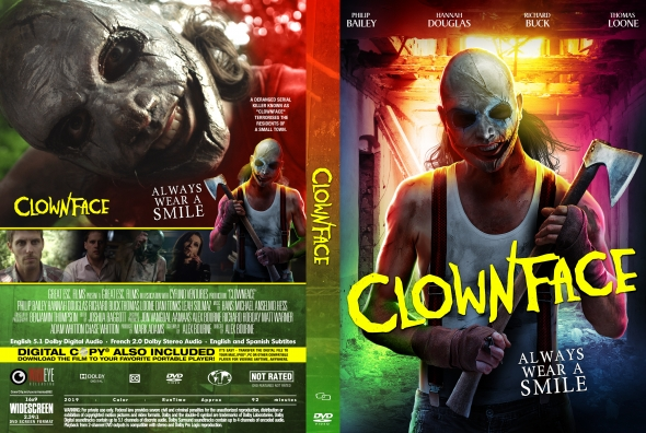 Clownface Released to DVD and Digital