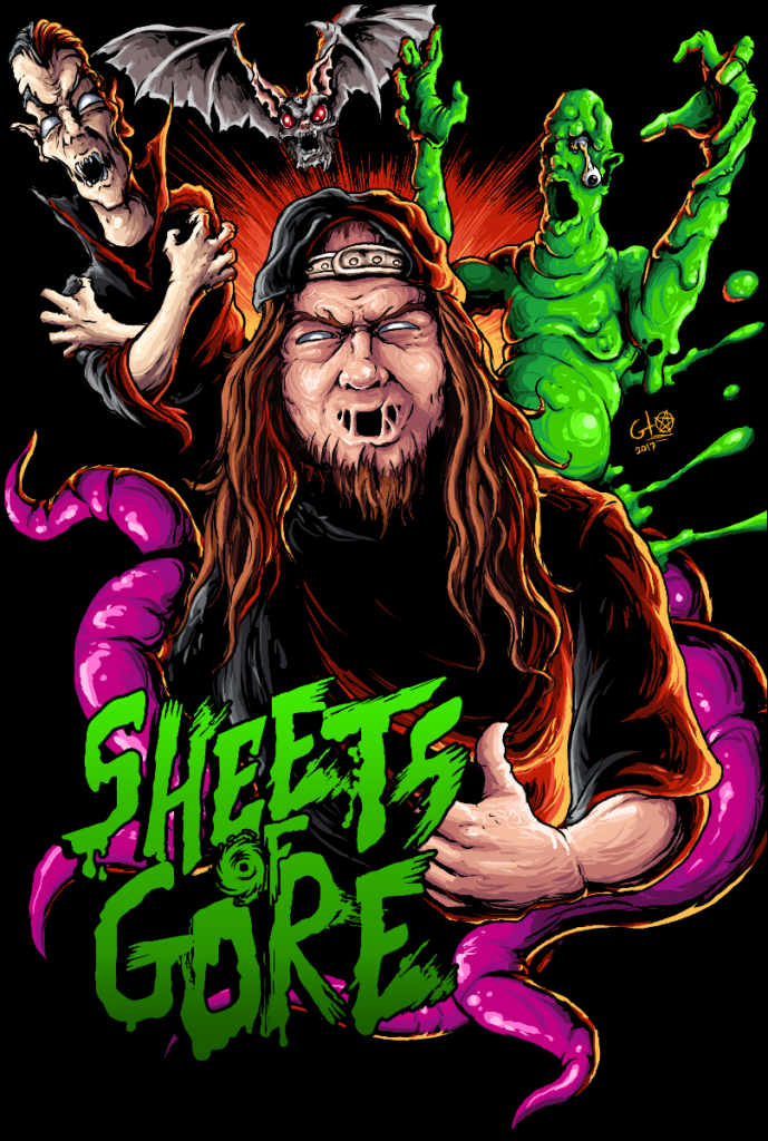 SRS Cinema's SHEETS OF GORE blu-ray back and on sale!