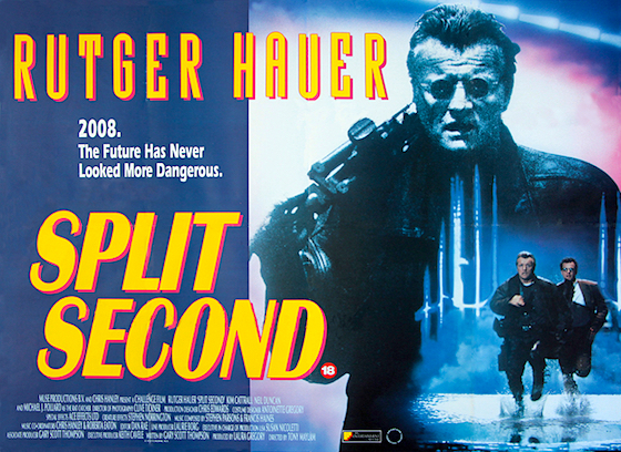 MVD's Blu-Ray of SPLIT SECOND Impresses