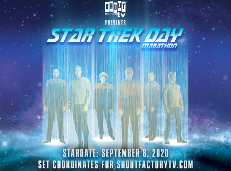 Shout Factory:  STAR TREK Day 2020