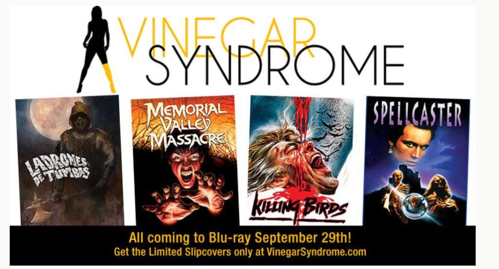 Vinegar Syndrome September release announcements