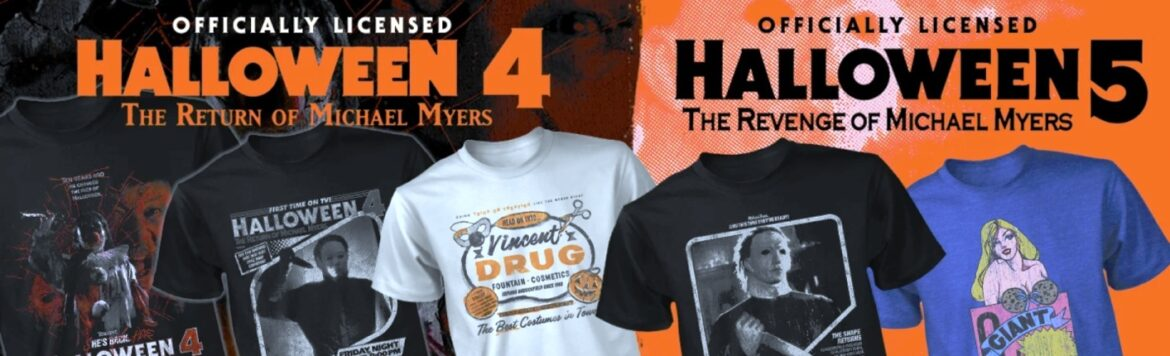 Fright Rags Has HALLOWEEN Film Series Swag