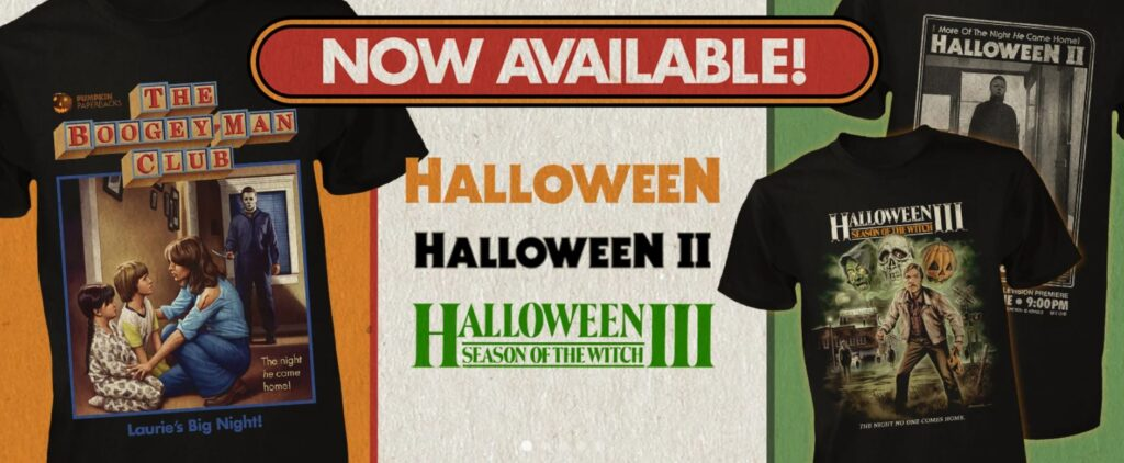 September Release of Fright-Rags T-Shirts