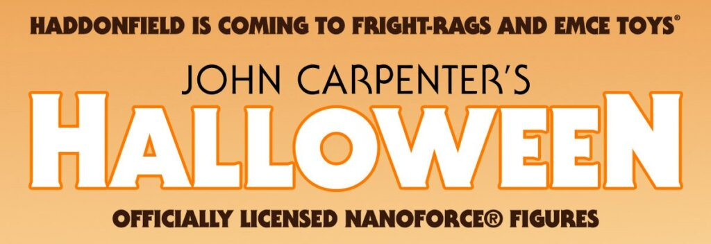 Fright Rags Officially Announces Licensed HALLOWEEN NANOFORCE® Figures