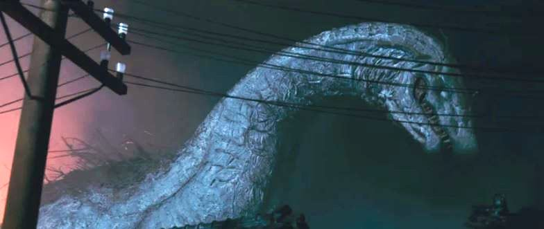 Kaiju movie HOWL FROM BEYOND THE FOG Blu-Ray Release
