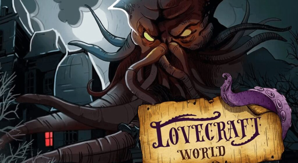"""Video Game LOVECRAFT WORLD Released by """"Just AI"""""""