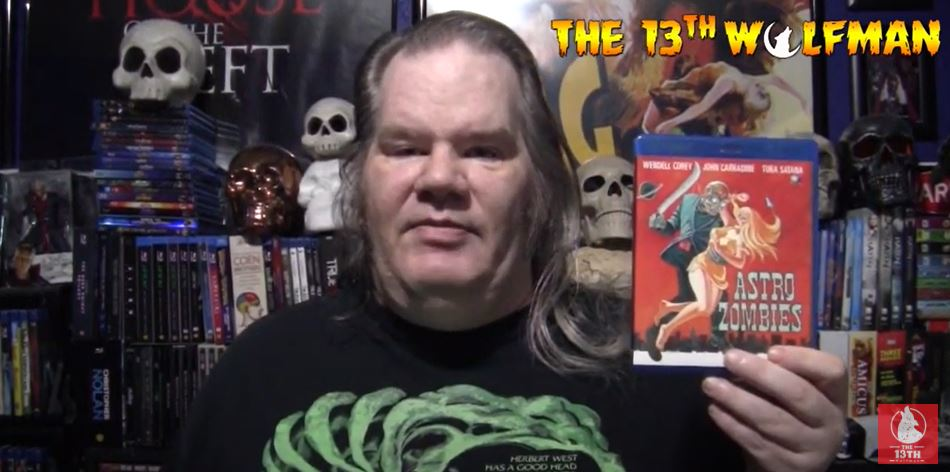 The 13th Wolfman – 31 Days of Horror Day 5 2020 Video – The Astro-Zombies (1968)