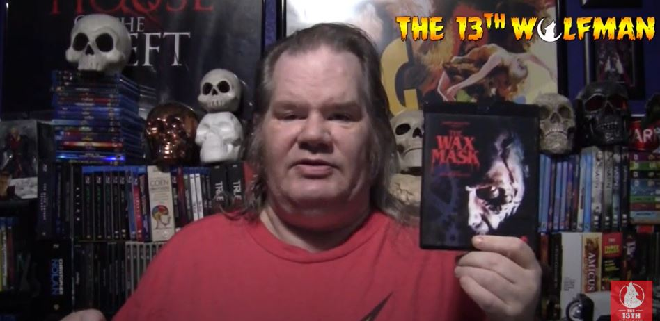 The 13th Wolfman – 31 Days of Horror Day 6 2020 Video – The Wax Mask (1997)