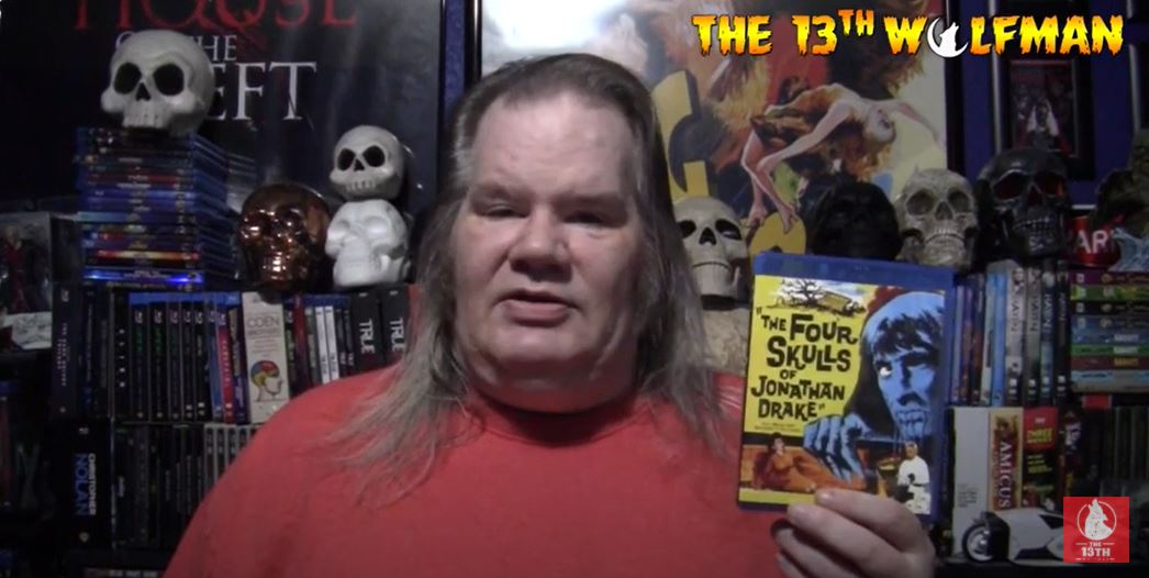 The 13th Wolfman – 31 Days of Horror Day 10 2020 Video – The Four Skulls of Jonathan Drake (1959)