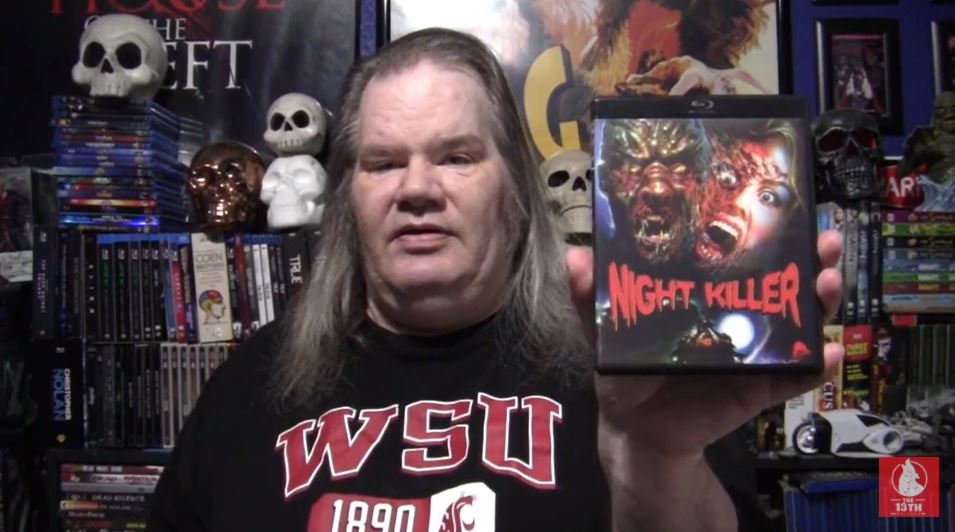 The 13th Wolfman – 31 Days of Horror Day 13 2020 Video – Night Killer (1990)