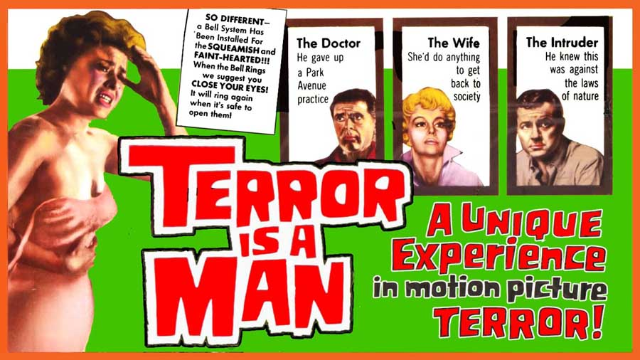 The 13th Wolfman – 31 Days of Horror Day 20 (2020) – BLOOD CREATURE (1959) aka 'TERROR IS A MAN'