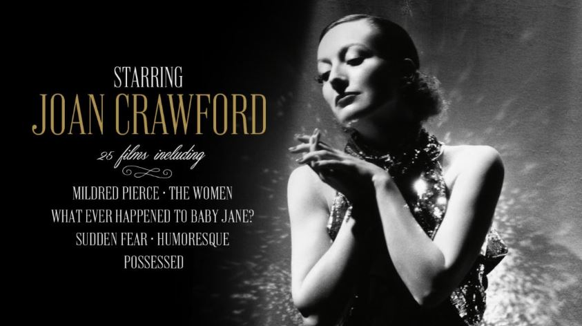 Joan Crawford – Film Noir Icon Comes to the Criterion Channel