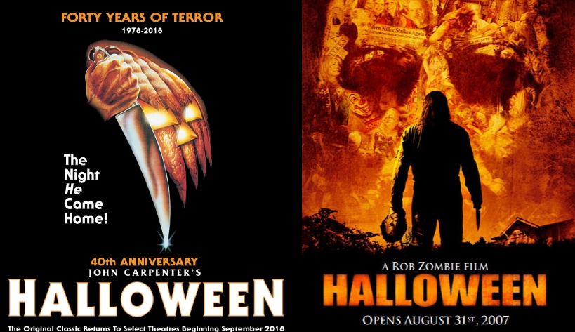 Movie Vs. Movie Podcast – Episode 020 – John Carpenter's and Rob Zombie's Halloween Flicks