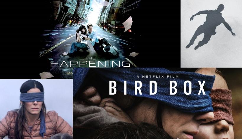 Movie Vs. Movie Podcast – Episode 018 – THE HAPPENING (2008) & BIRD BOX (2018)