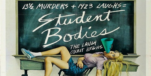 It's Not Horror Podcast – Episode 026 – STUDENT BODIES (1981)