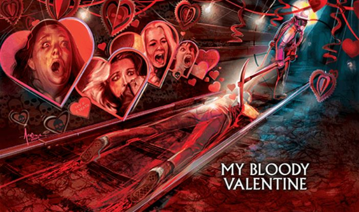 Scream Factory – MY BLOODY VALENTINE Steelbook with Action Figure