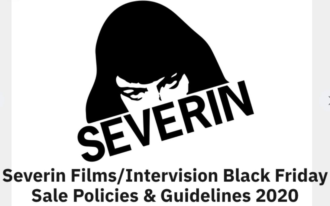 Black Friday 2020 at Severin Films