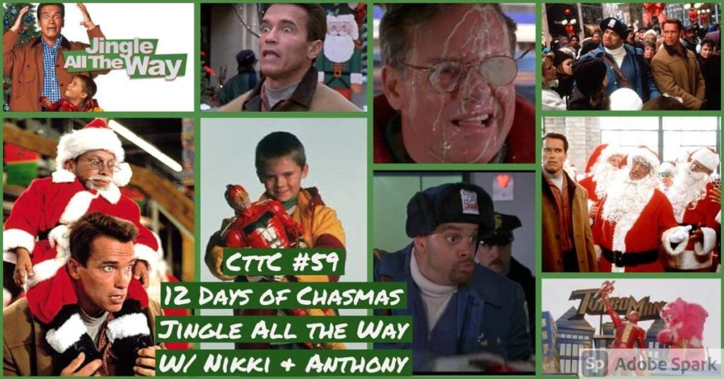 Cut to the Chase Podcast- Jingle All the Way (2020)