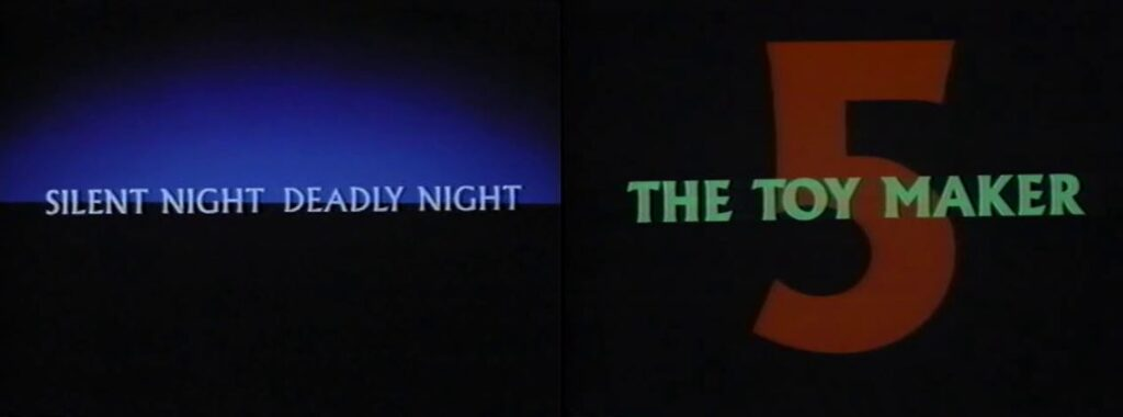 Is It Really That Bad Movie Podcast – Episode 002 – SILENT NIGHT DEADLY NIGHT 5: THE TOY MAKER (1991)