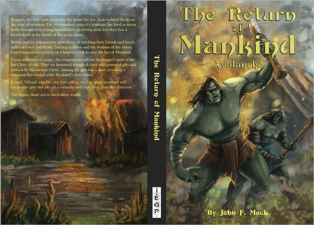 The Return of Mankind: Avalanche – Epic Fantasy Novel Released