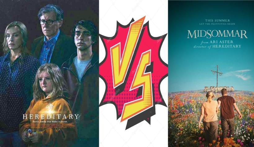 Movie Vs. Movie Podcast – Episode 021 – Ari Aster's HEREDITARY (2018) & MIDSOMMAR (2019)
