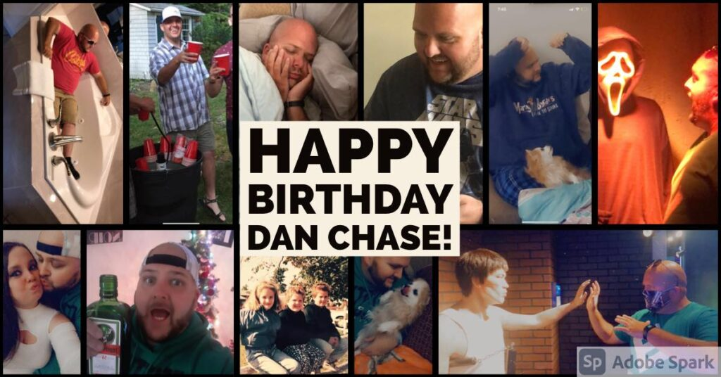 Cut to the Chase Podcast – Happy Birthday, Dan Chase!