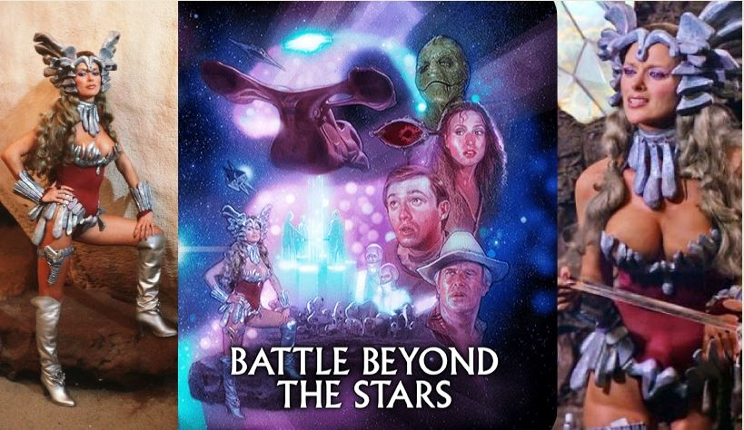 Shout Factory Announces BATTLE BEYOND THE STARS Steelbook and Sybil Danning Figurine