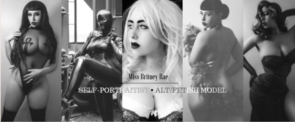 Interview: Photographer, Artist, Digital Retoucher & Model Miss Britney Rae