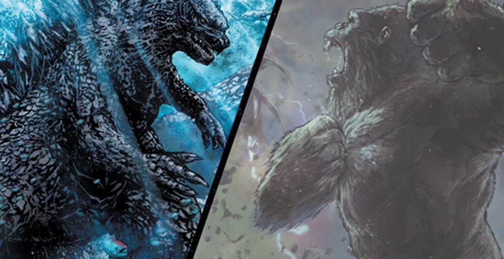 Legendary Comics Drops New Motion Trailer for 'Godzilla vs. Kong' Publishing Program