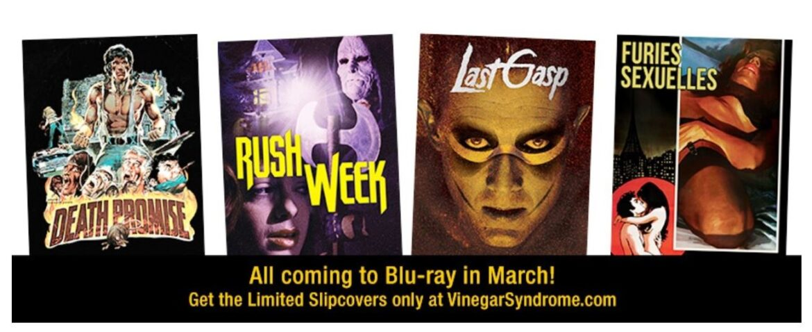 Vinegar Syndrome Announces Halfway to Black Friday Sale