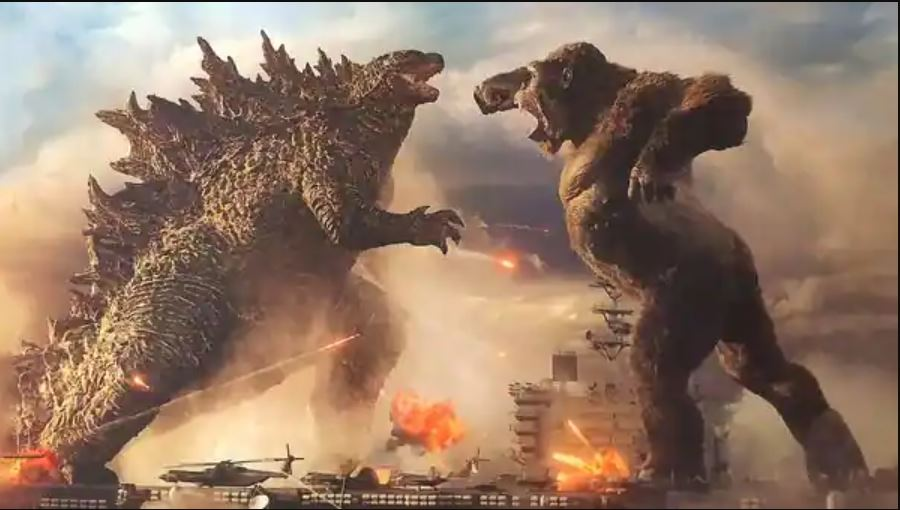 His and Hers Movie Podcast – Episode 060 –  GODZILLA VS. KING KONG (2021)