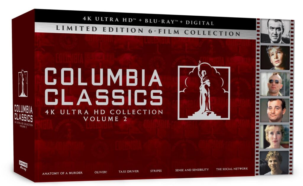 Columbia Classics 4K Ultra HD Collection Volume 2 Available on 9/14/2021