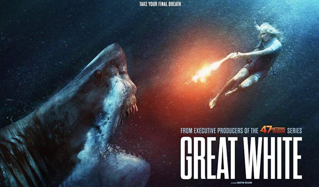 GREAT WHITE starring Katrina Bowden Arrives July 16th, 2021