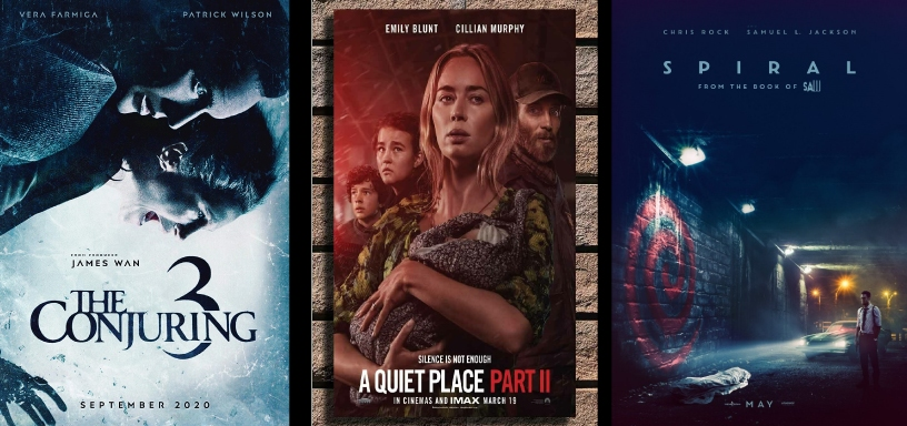 His and Hers Movie Podcast – Episode 064 – A Quiet Place 2, Spiral, & The Conjuring 3