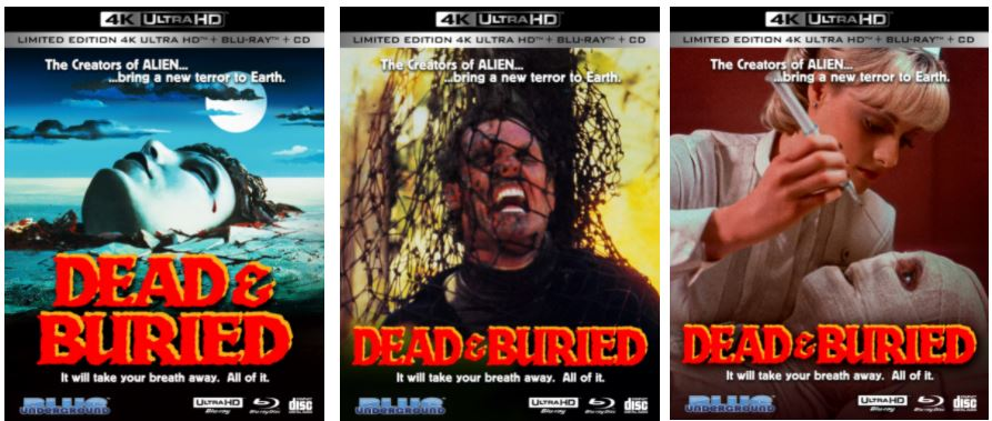 DEAD & BURIED (1981) Comes to 4K From Blue Underground