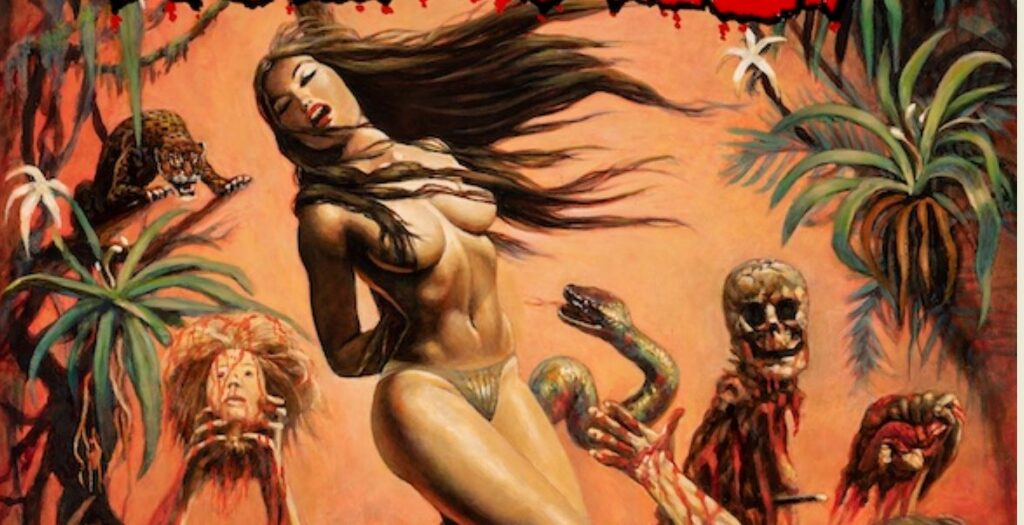 Long-Lost CANNIBAL HOLOCAUST Poster Art Available From Grindhouse Releasing.