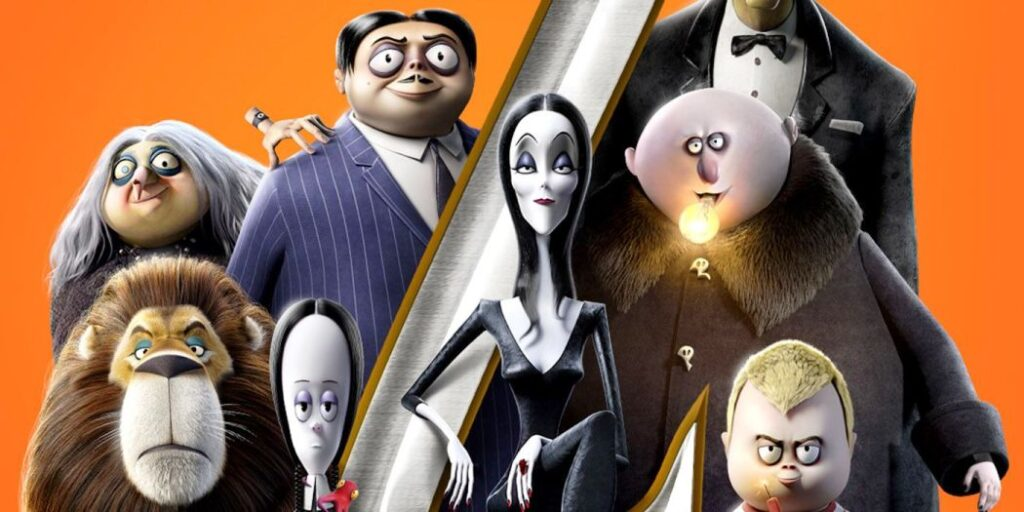 THE ADDAMS FAMILY is out on Vacation in NEW Character Posters for THE ADDAMS FAMILY 2!