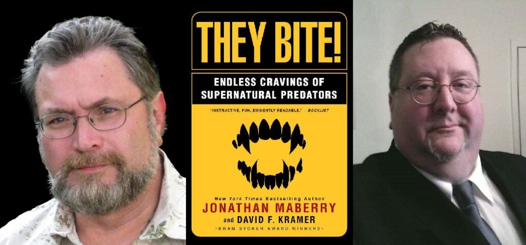 Jonathan Maberry and David Kramer's THEY BITE Returns To Publication