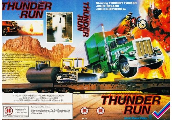 It's Not Horror Podcast – Episode 043 – Thunder Run (1985)